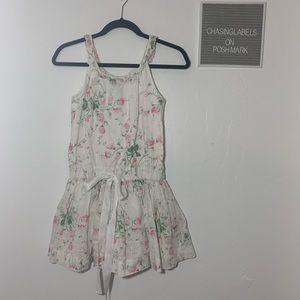 Ralph Lauren | girls white floral dress 548